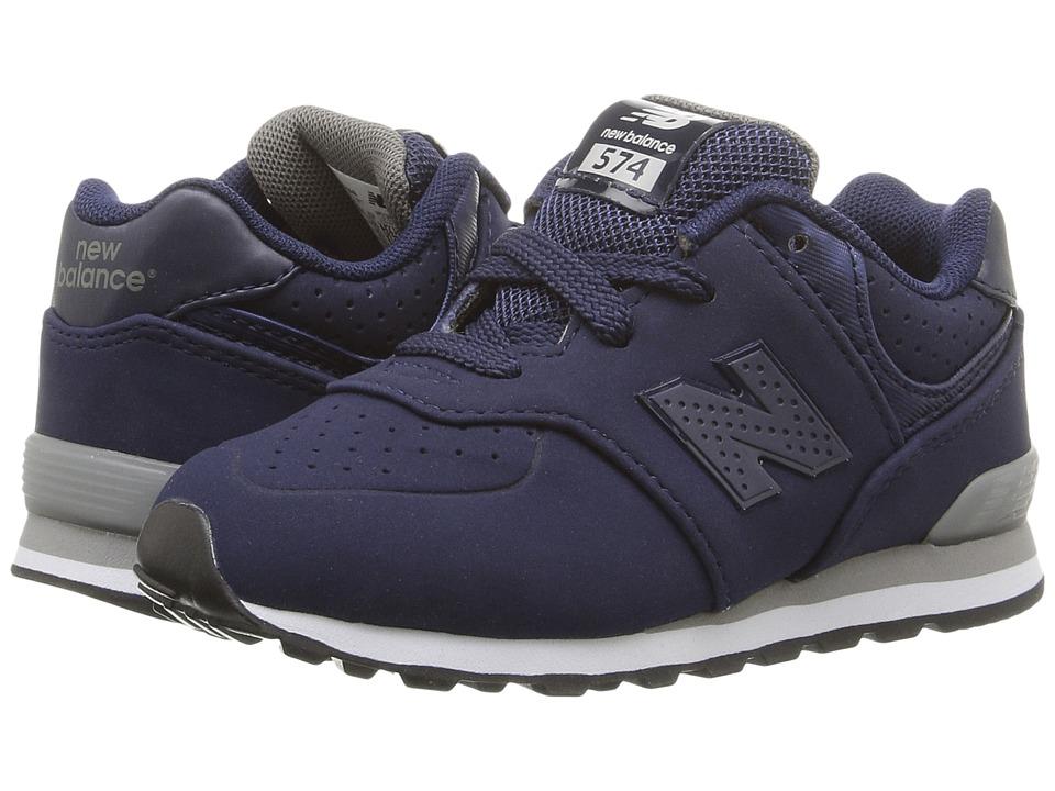 New Balance Kids - KL574 (Infant/Toddler) (Blue/Grey 1) Boys Shoes