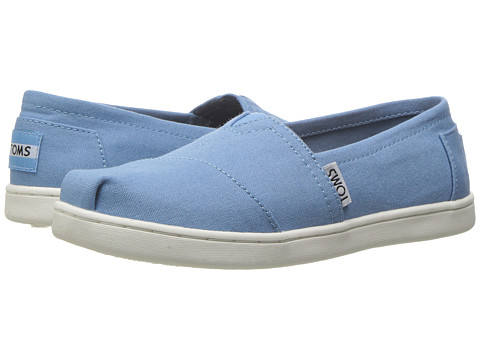 TOMS Kids Seasonal Classics (Little Kid/Big Kid) - Cornflower Blue Canvas