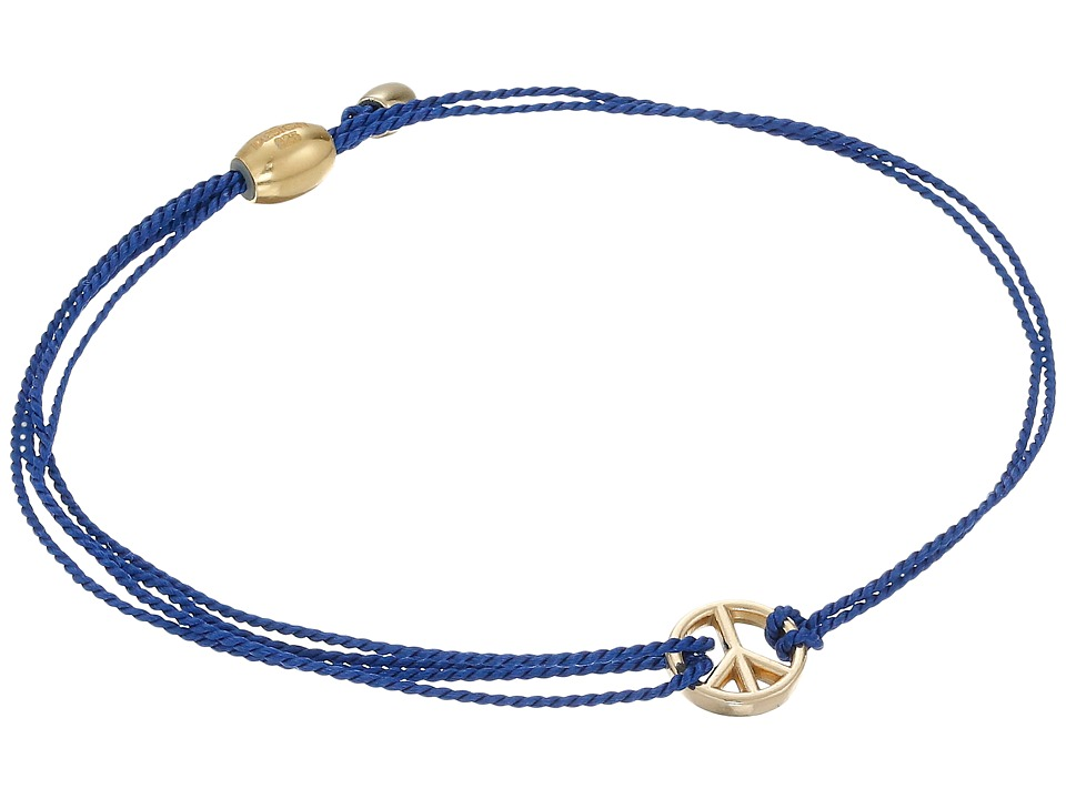 Alex and Ani - Kindred Cord Peace Blue (Assorted) Bracelet