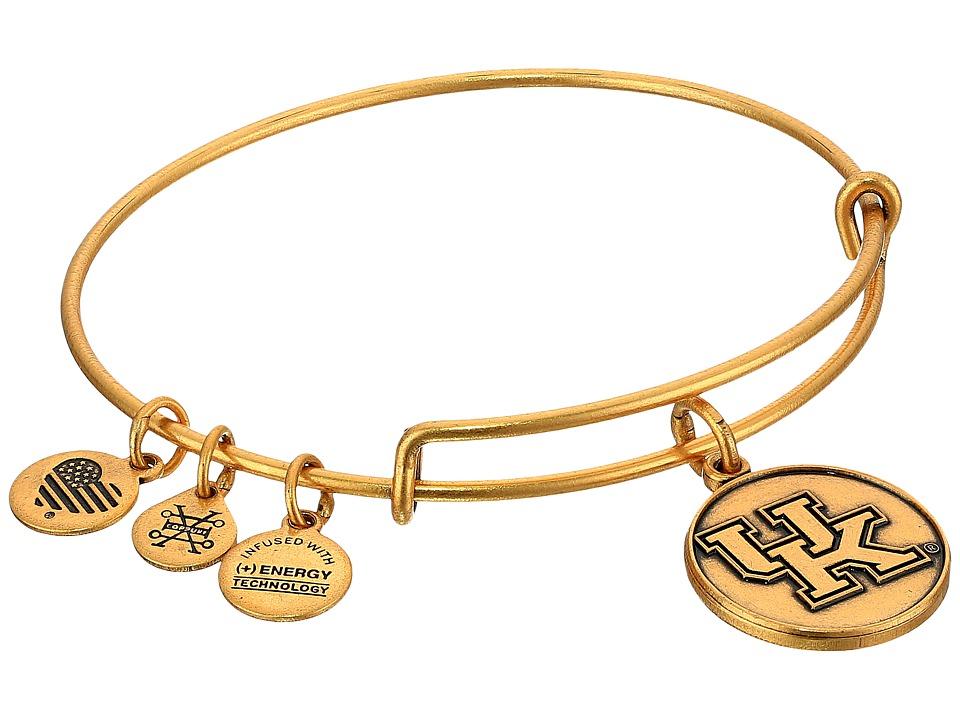Alex and Ani - University of Kentucky (Rafaelian Gold) Bracelet