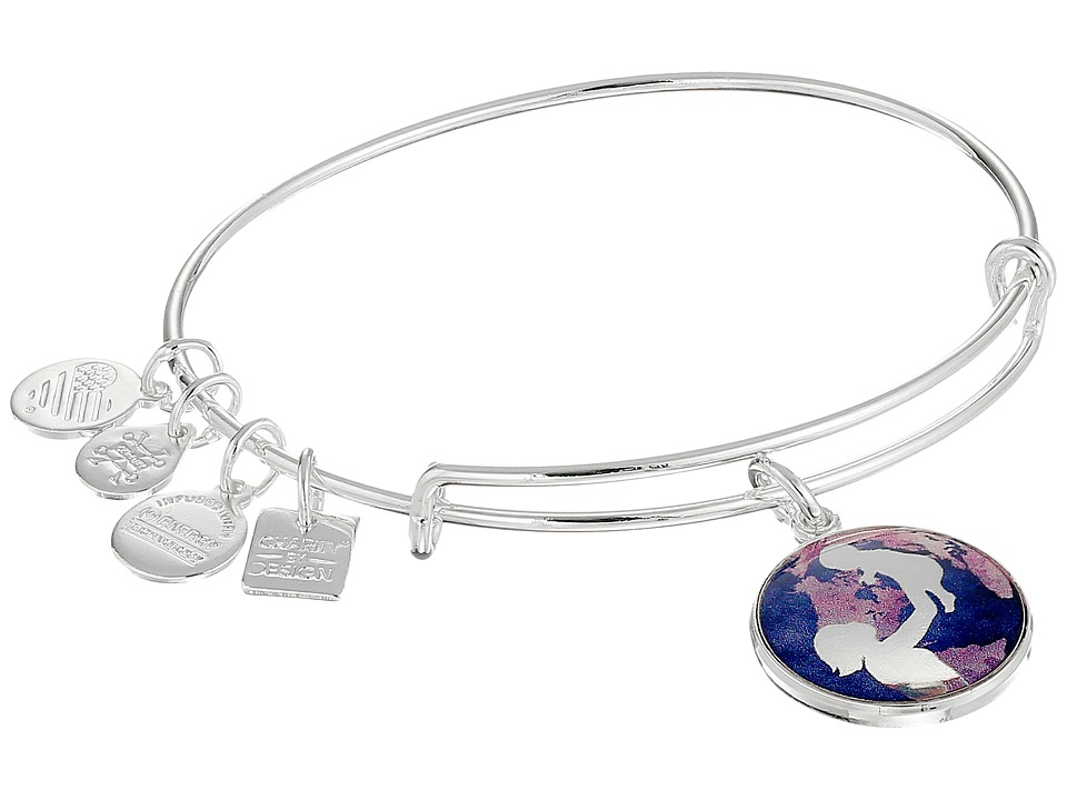 Alex and Ani - Charity By Design Bright Future (Shiny Silver) Bracelet