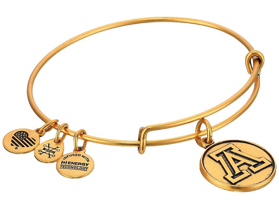 Alex and Ani - University of Arizona (Rafaelian Gold) Bracelet