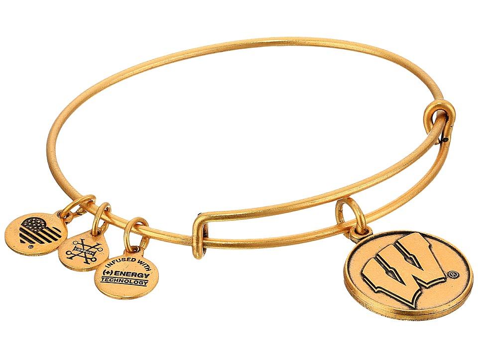 Alex and Ani - University of Wisconsin (Rafaelian Gold) Bracelet