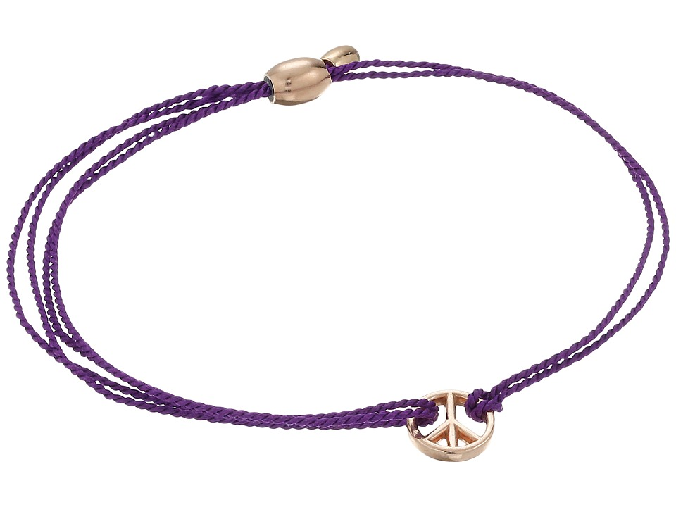Alex and Ani - Kindred Cord Peace Amethyst (Assorted) Bracelet