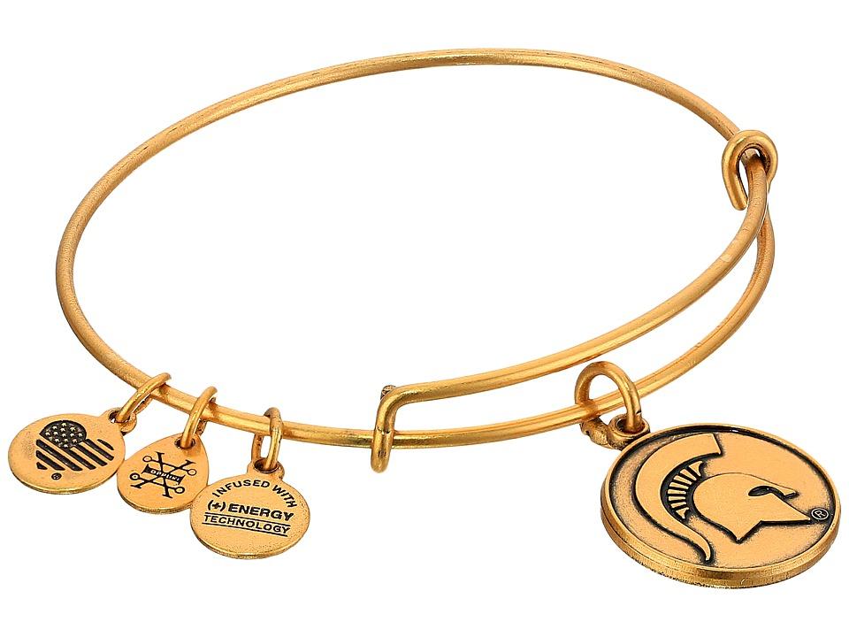 Alex and Ani - Michigan State University (Rafaelian Gold) Bracelet