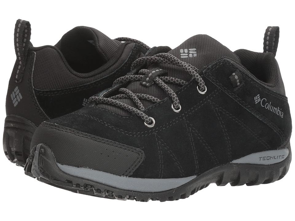 Columbia Kids Venture (Little Kid/Big Kid) (Black/Graphite) Kids Shoes
