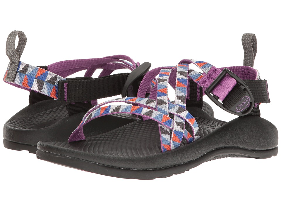 Chaco Kids Zx1 Ecotread (Toddler/Little Kid/Big Kid) (Camper Purple) Girls Shoes