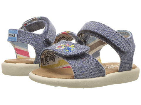 TOMS Kids Strappy Sandals (Toddler/Little Kid/Big Kids)