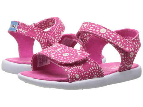 TOMS Kids Strappy Sandals (Toddler/Little Kid/Big Kids)