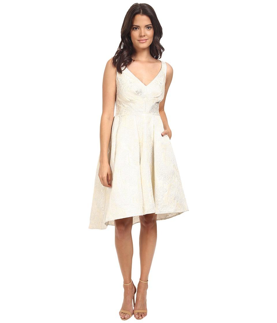 Eva by Eva Franco - Zander Dress (Flake Champagne) Womens Dress