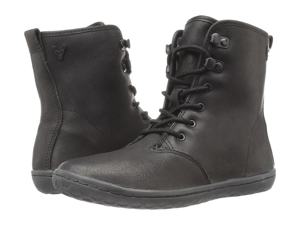Vivobarefoot Gobi Hi-Top (Black/Hyde Leather) Women
