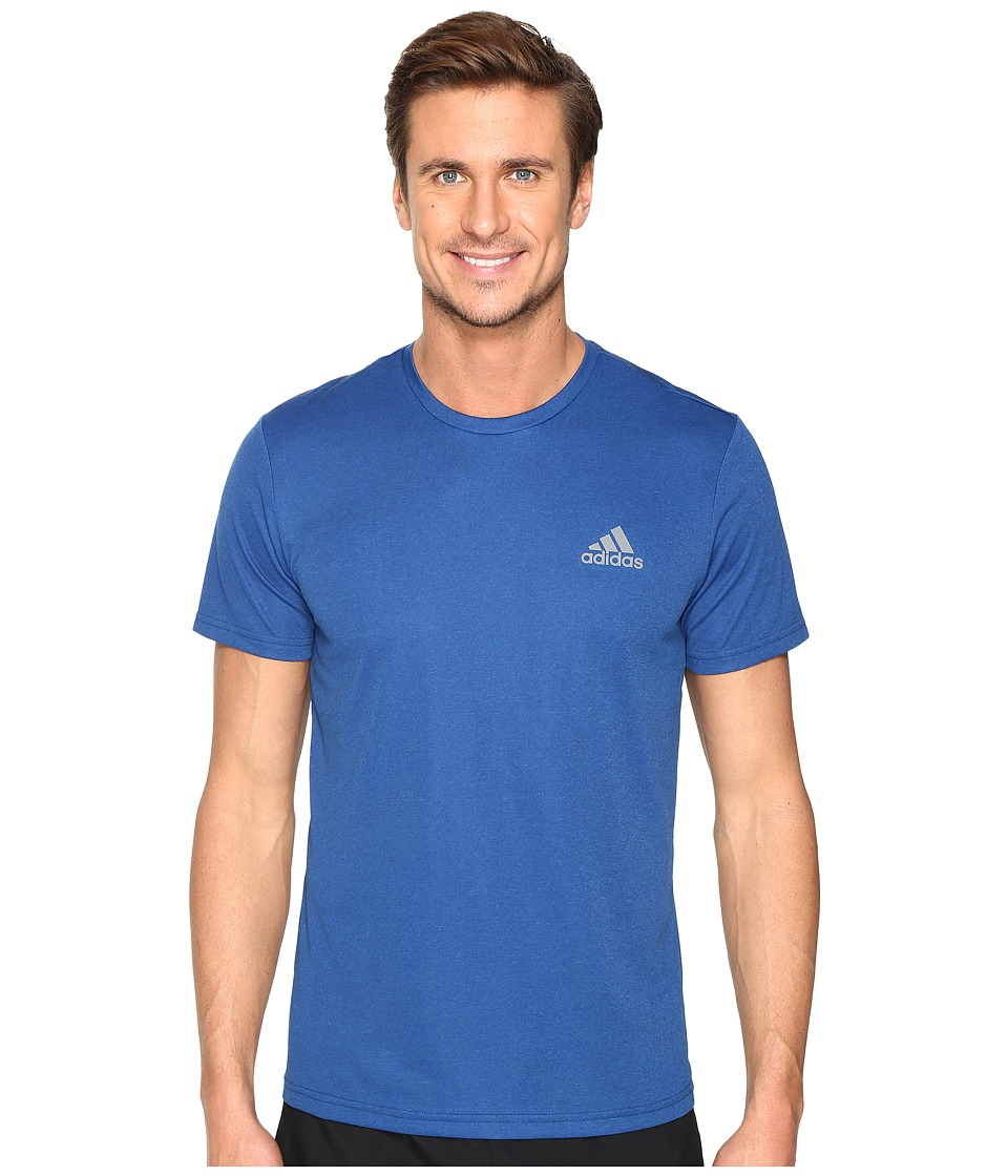 adidas Essential Tech Crew Tee (Mystery Blue S17/Blue) Men