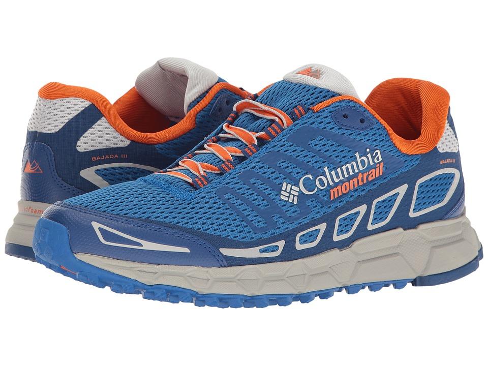 Columbia - Bajada III (Royal/Heatwave) Mens Running Shoes