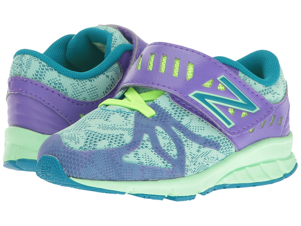 New Balance Kids KV200v1 (Infant/Toddler) (Purple/Green) Girls Shoes