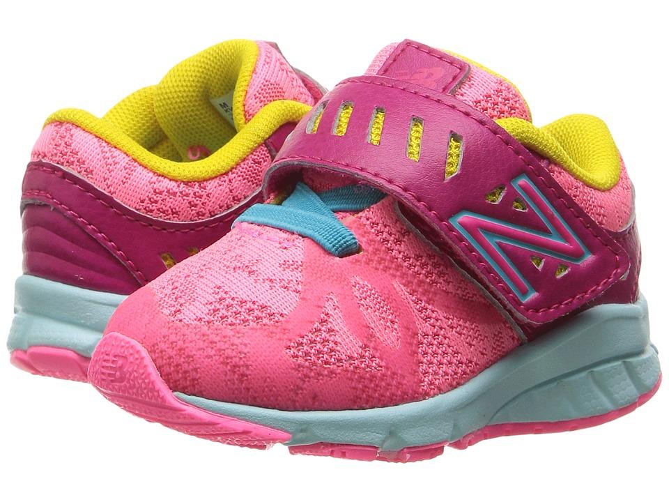 New Balance Kids KV200v1 (Infant/Toddler) (Pink/Blue) Girls Shoes
