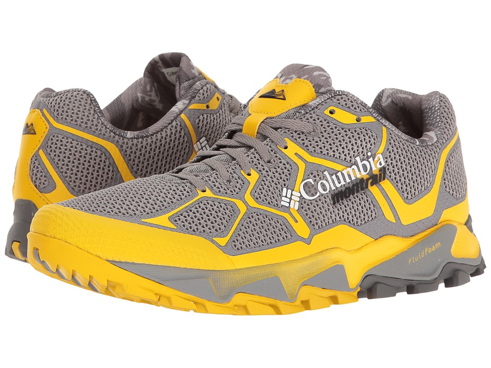 Columbia Trans Alps F.K.T (Light Grey/Electron Yellow) Men