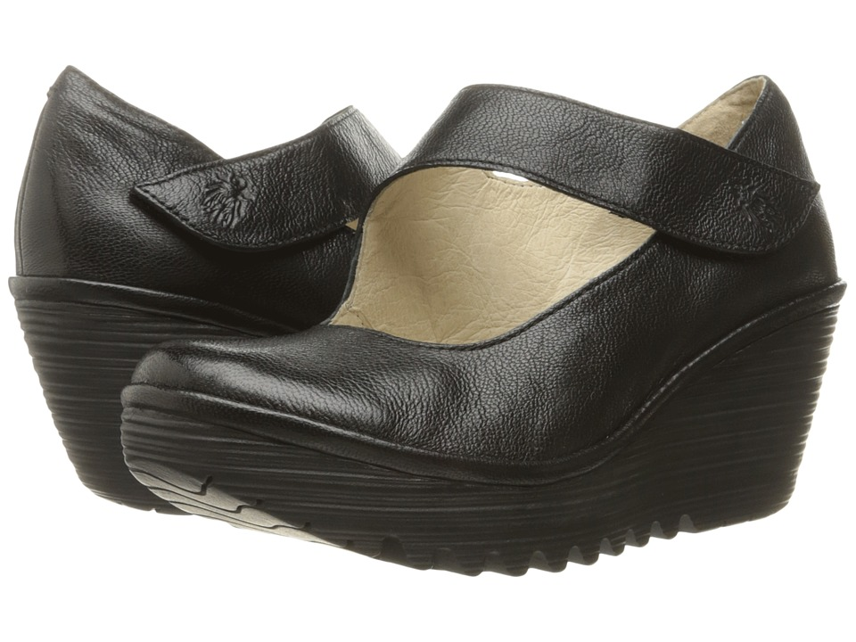 FLY LONDON - Yasi682Fly (Black Mousse) Womens Shoes