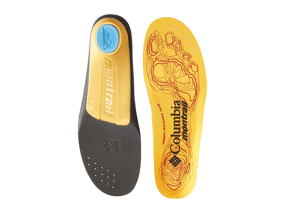 Columbia - Enduro-Sole LP (Yellow MHW) Mens Insoles Accessories Shoes