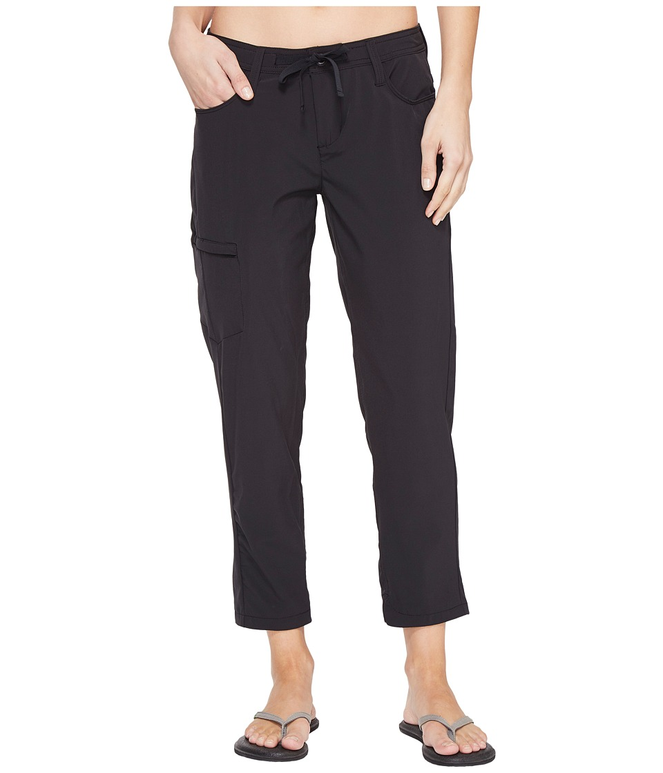 Toad&Co Jetlite Crop Pants (Black) Women