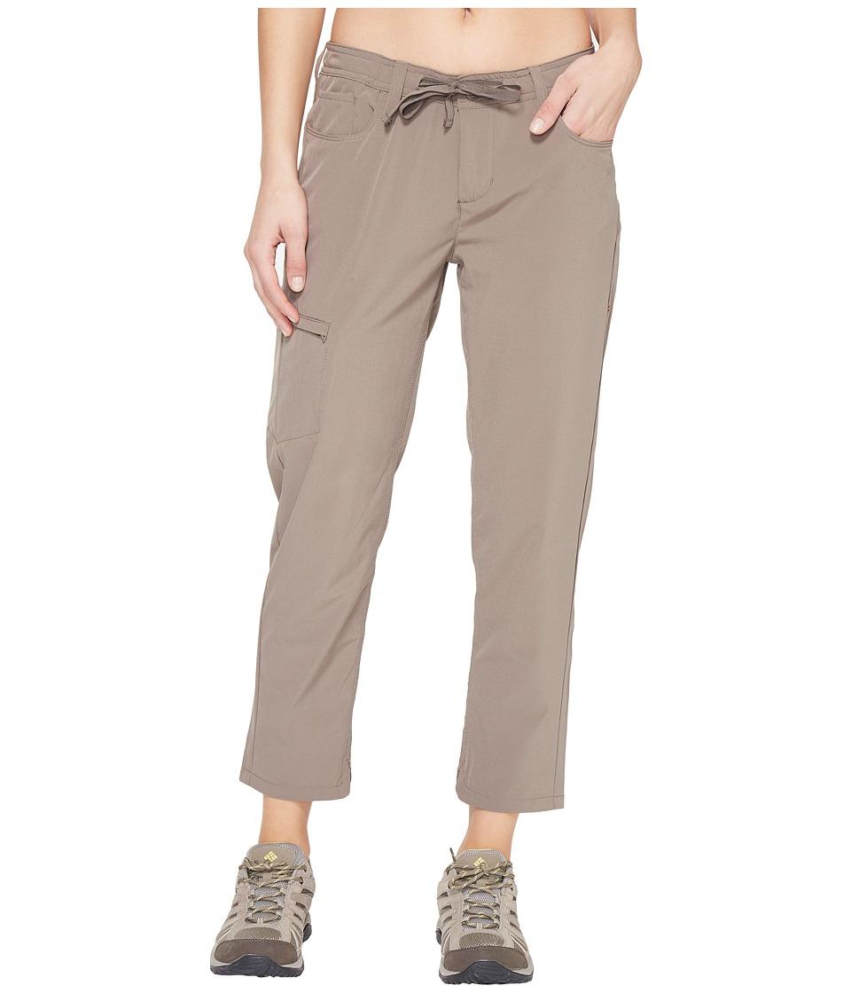 Toad&Co - Jetlite Crop Pants (Falcon Brown) Women's Casua...