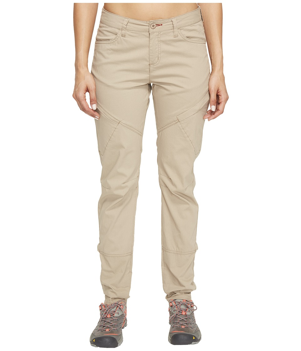 Toad&Co Summitline Hiking Pants (Buckskin) Women