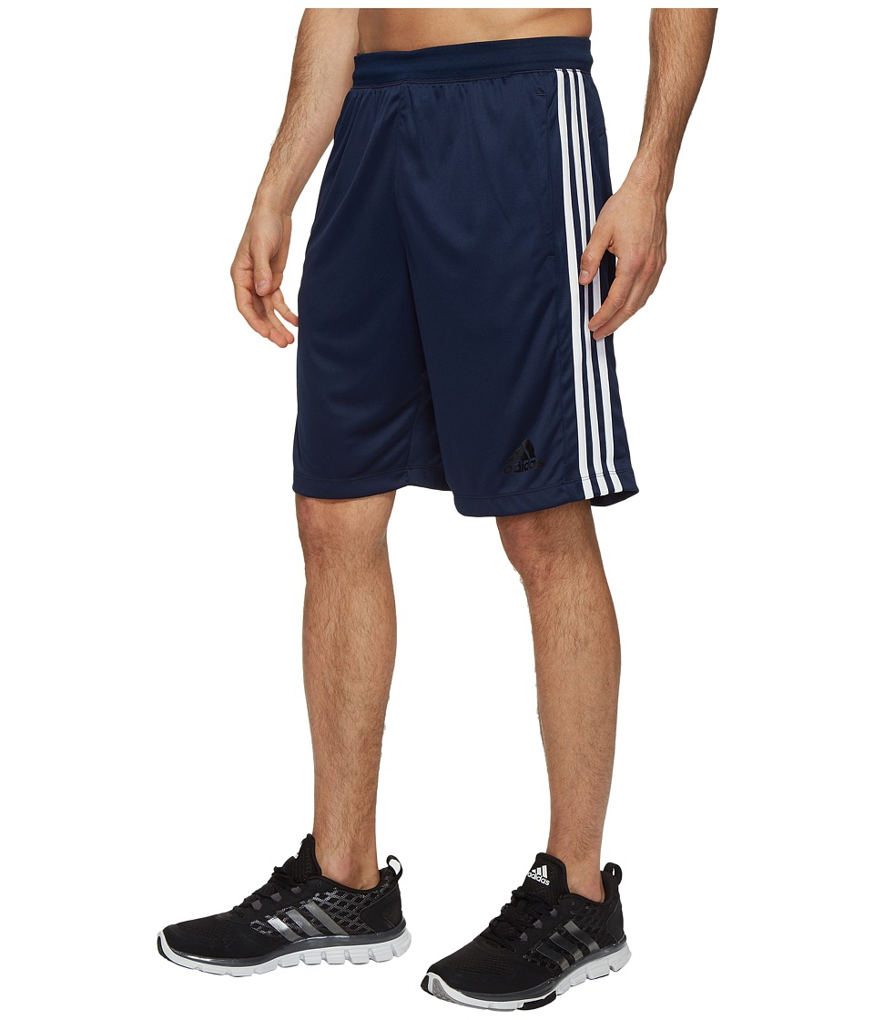 adidas Designed-2-Move 3-Stripes Shorts (Collegiate Navy/White) Men