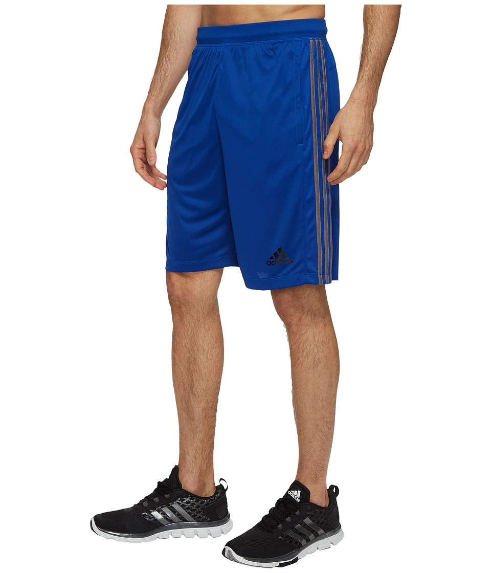 adidas Designed-2-Move 3-Stripes Shorts (Collegiate Royal/Trace Gray S17) Men