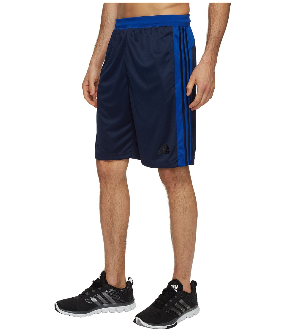 adidas Designed-2-Move 3-Stripes Shorts (Collegiate Navy/Collegiate Royal) Men