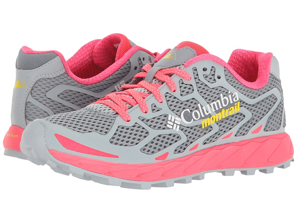 Columbia - Rogue F.K.T (Tradewinds Grey/Laser Red) Womens Running Shoes