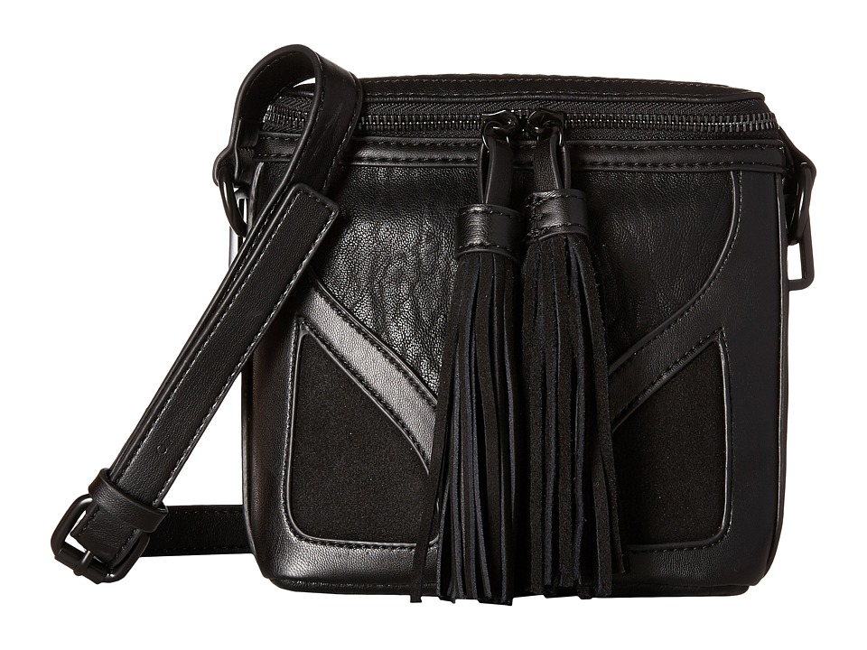 French Connection - Heidi Crossbody (Black) Cross Body Handbags