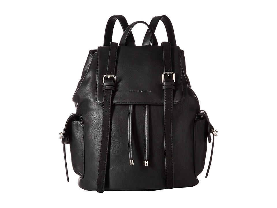 French Connection - Kyle Backpack (Black) Backpack Bags