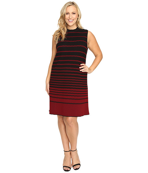 NIC+ZOE Plus Size Fall Fever Dress