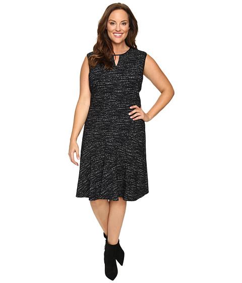 NIC+ZOE Plus Size Tweed Jacquard Dress