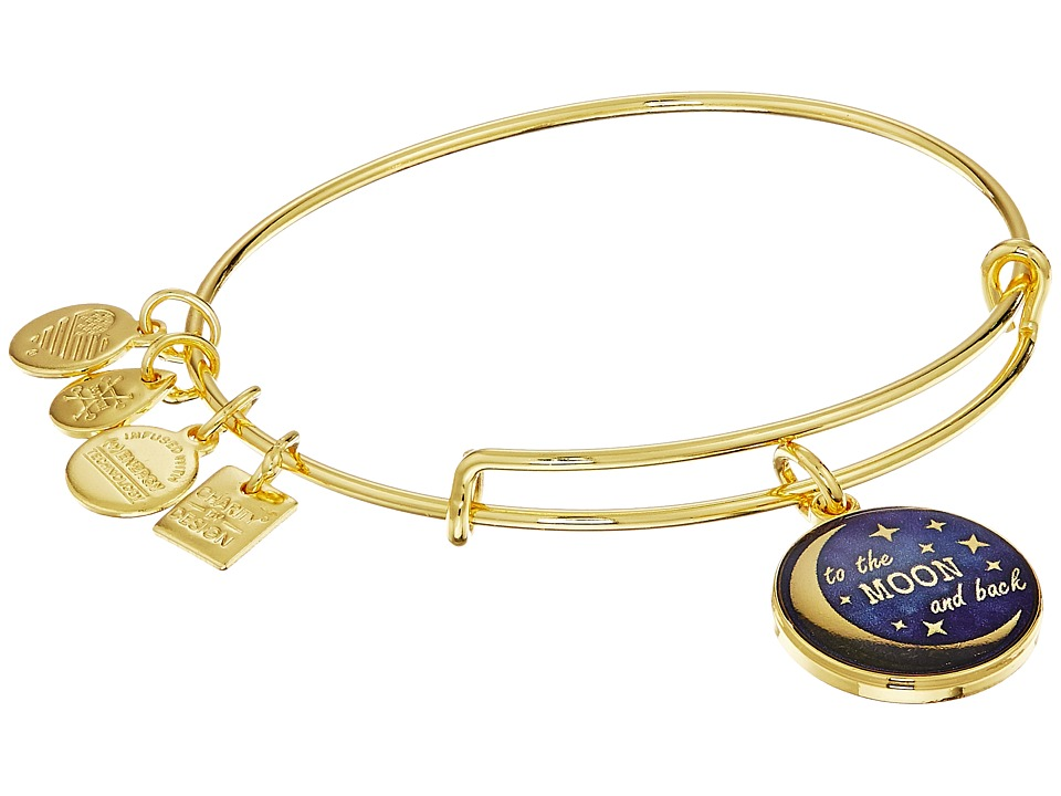 Alex and Ani - Charity By Design Stellar Love (Gold) Bracelet