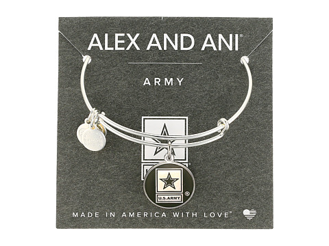Alex and Ani US Army - Shiny Silver