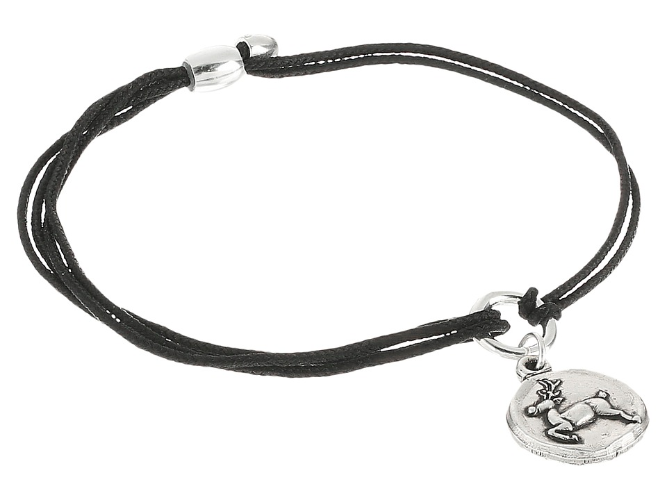 Alex and Ani - Kindred Cord Reindeer (Rafaelian Silver) Bracelet