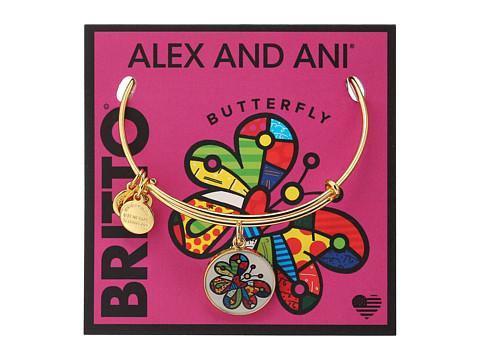 Alex and Ani Romero Britto Art Infusion Butterfly - Gold