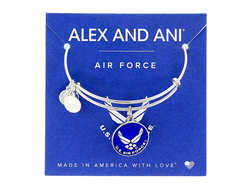 Alex and Ani - US Air Force (Shiny Silver) Bracelet