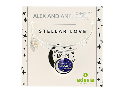 Alex and Ani Charity By Design Stellar Love - Shiny Silver
