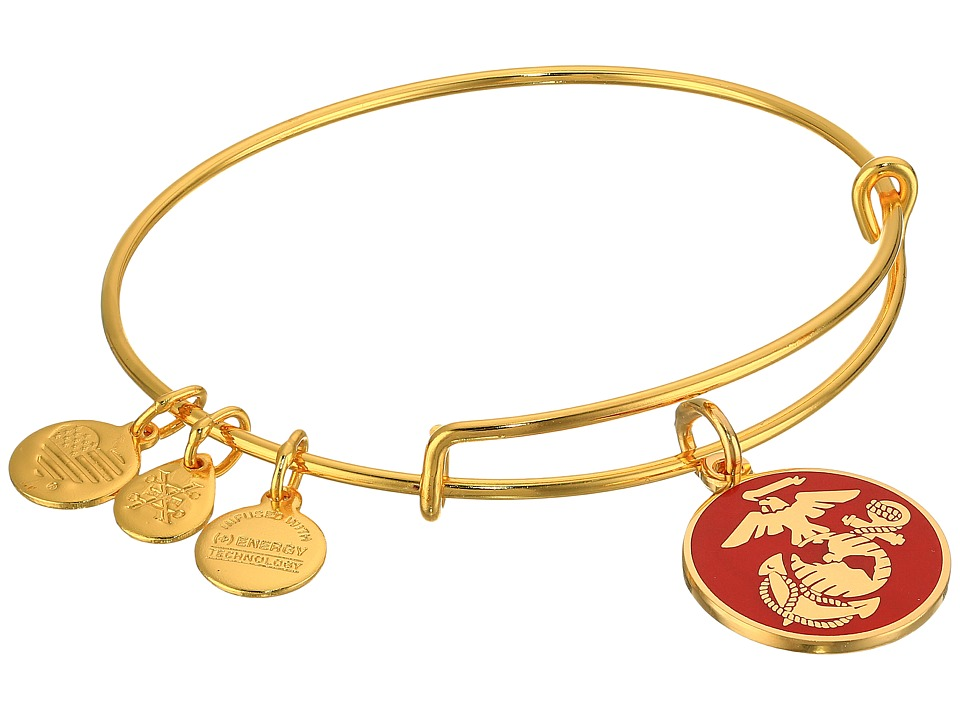 Alex and Ani - US Marine Corps (Gold) Bracelet