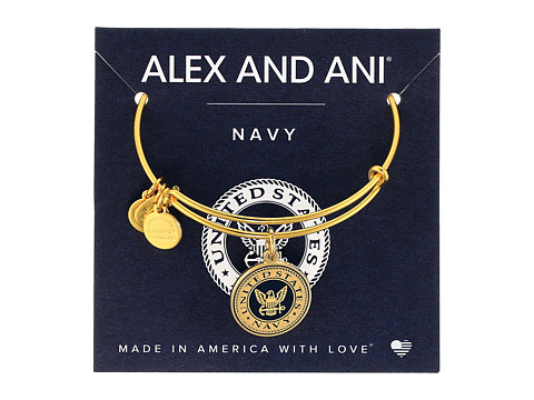 Alex and Ani US Navy - Gold