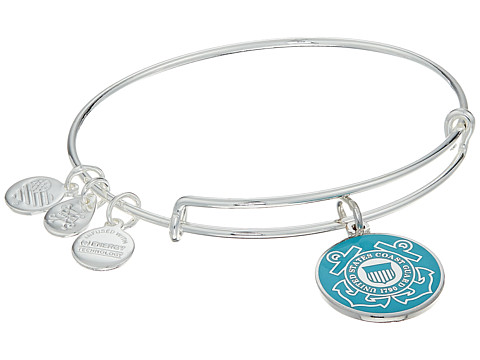 Alex and Ani US Coast Guard - Shiny Silver