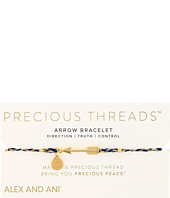 Alex and Ani - Precious Threads Arrow Soul Blue Braid