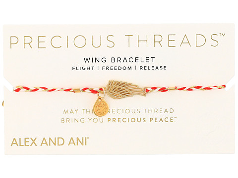 Alex and Ani Precious Threads Wing Royal Cardinal Braid - Assorted