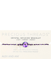 Alex and Ani - Precious Threads Paradise Shine Swarovski Crystal Inky Purple Braid