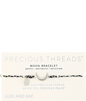 Alex and Ani - Precious Threads Moon Silver Crescent Braid