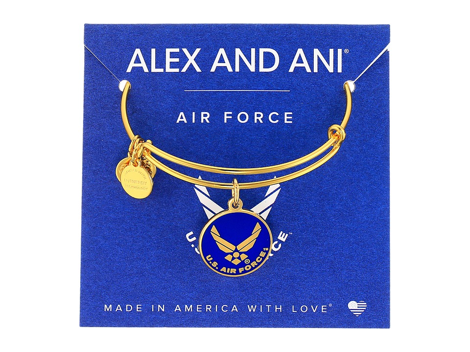 Alex and Ani - US Air Force (Gold) Bracelet
