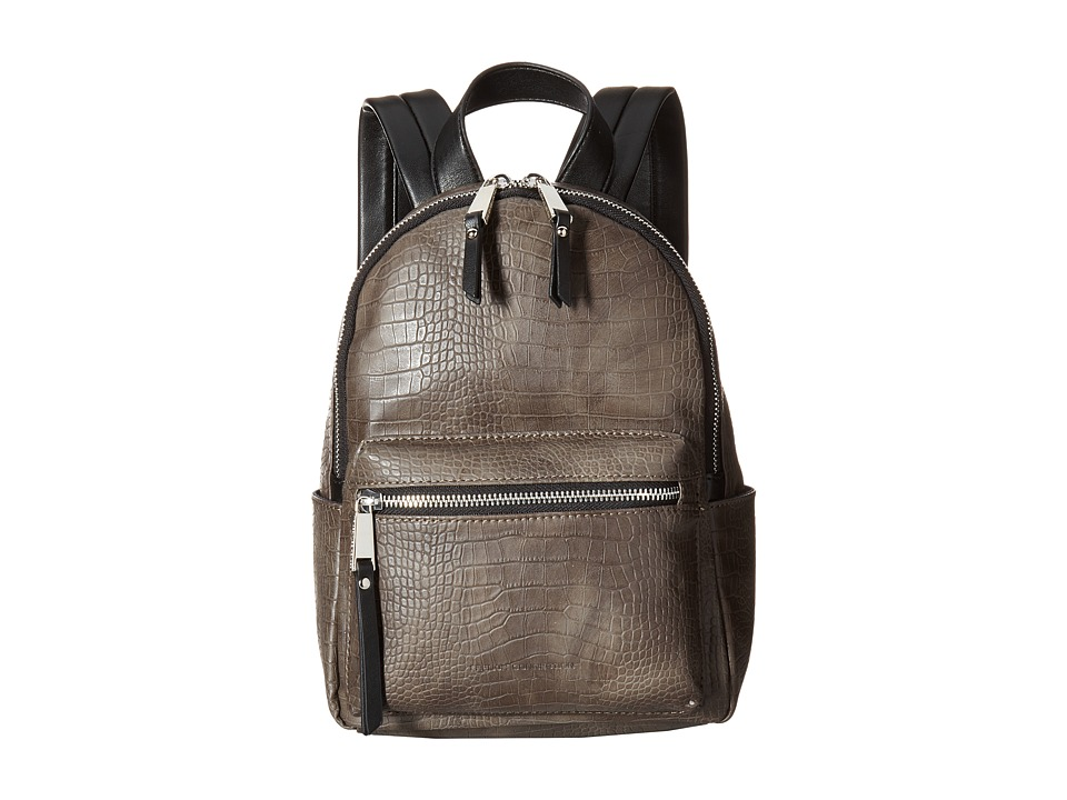 French Connection - Perry Croco Mini Backpack (Turtle) Backpack Bags