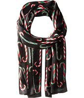 Echo Design - Candy Cane Forest Silk Oblong
