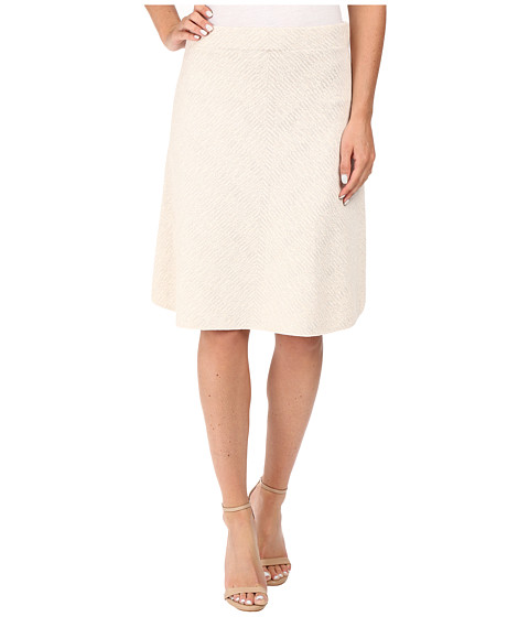 NIC+ZOE - Textured Flirt Skirt (Rainy Day) Women's Skirt